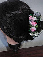 Крабик для волос роза