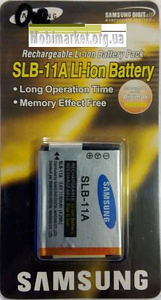 Акумуляторна батарея SAMSUNG SLB-11A  3.8V/1130mAh, фото 2