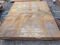 Лист  сталь 09Г2С горячекатанный стальной конструкционный