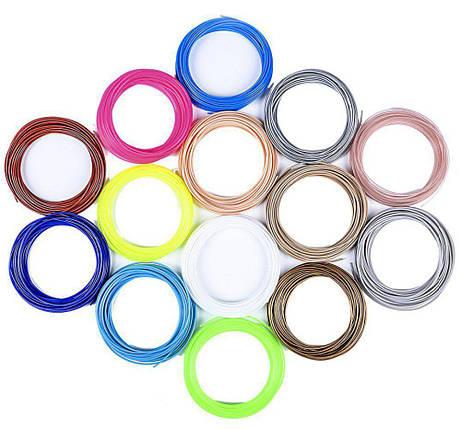 Набор АБС пластика из 10 цветов, 100 м, фото 2