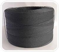 Бумажный черный крафт шпагат, 2,8мм