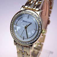 Женские кварцевые часы золотистого цвета МК6771, фото 1