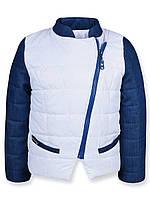 Куртка для девочек Катрин (Белая) (98)