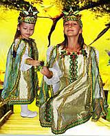 Карнавальный маскарадный детский сказочный костюм Царевна лягушка