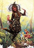 Карнавальные новогодние сказочные детские костюмы Ведьмочка , баба Яга