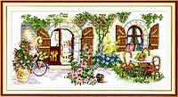 Идеальный дом Набор для вышивания крестиком с печатью на ткани  канва 11СТ