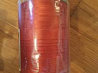 Косая бейка 1,5см св.коричневая атласная