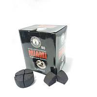 Кокосовый уголь для калауда для кальяна круглый Miami
