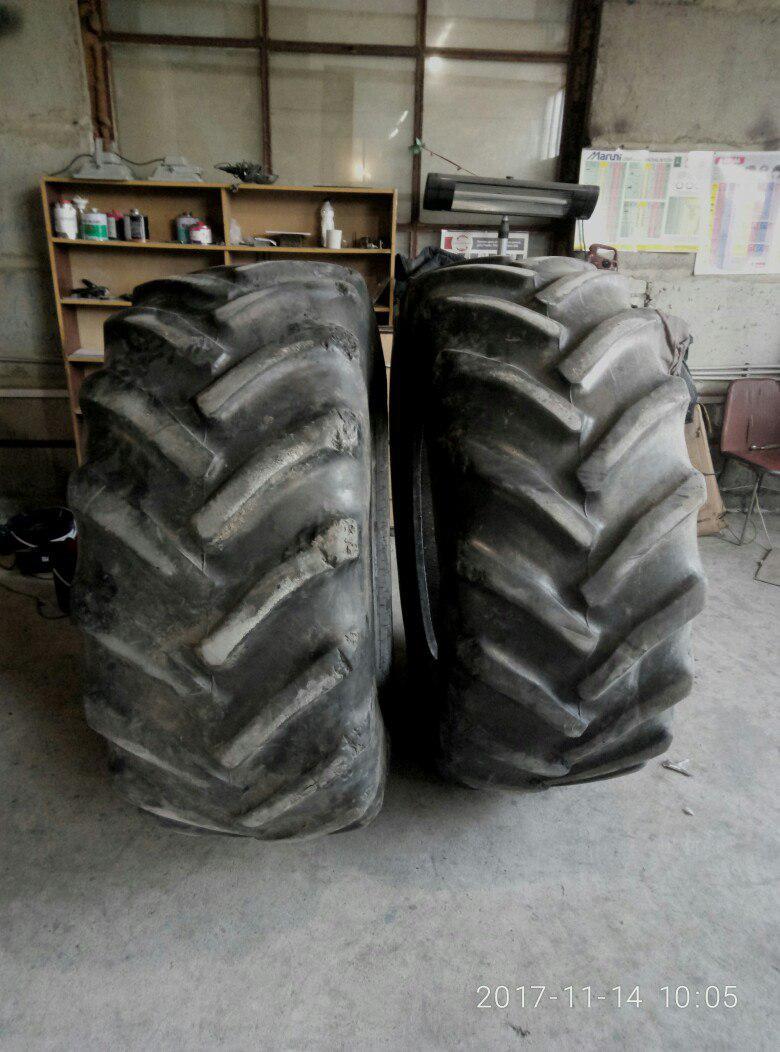 Шины б/у 600/70R30 Goodyear для трактора JOHN DEERE, CASE IH