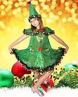 Карнавальные новогодние  костюмы Ёлочка 1