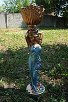 Скульптура  Мавка (бронза цветная) 81 см.