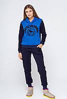 Женский спортивный костюм теплый Кантара синий