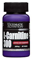 L Карнитин, Ultimate Nutrition, L-carnitine 500 mg, 60 caps