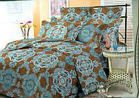 Комплект постельного белья 3Д Семейный Поликоттон 60% хлопок полиестер