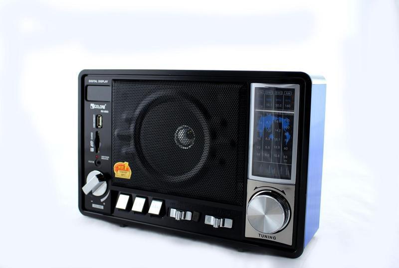 Радиоприемник колонка MP3 Golon RX-950 Blue