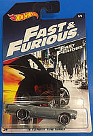 Машинка  Hot Wheels серия Fast And Furious Plymouth Road Runner