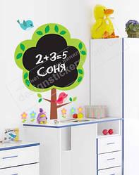 """Дитяча дошка для малювання крейдою на стіну """"Дерево для малювання"""""""