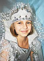 Карнавальный новогодний костюм Вьюга  Зима  Снежная королева