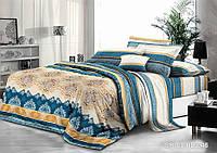 Комплект постельного белья 3Д Полуторный Микросатин 80% хлопок полиестер