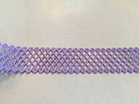 Тесьма декоративная Сеточка 2см фиолет.