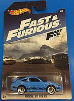 Машинка  Hot Wheels серия Fast And Furious Porshe 911 GT3 RS