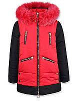 Зимние пальто Миранда (Красное) (L 152)