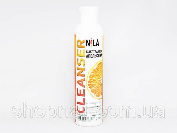 Nila Cleanser - средство для снятия липкого слоя (апельсин), 250 ml, фото 2