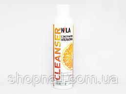 Nila Cleanser - средство для снятия липкого слоя (апельсин), 250 ml