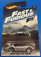 Машинка  Hot Wheels серия Fast And Furious Corvette Grand Sport