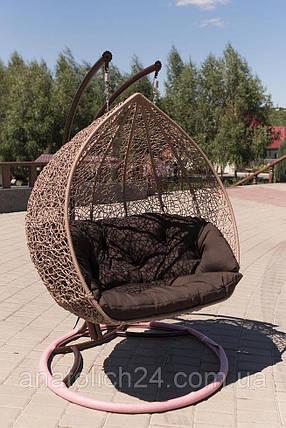 Подвесное кресло Дабл Кофе-Шоколад, фото 2