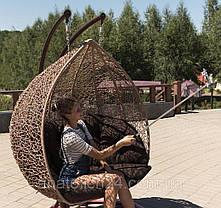 Подвесное кресло Дабл Кофе-Шоколад, фото 3