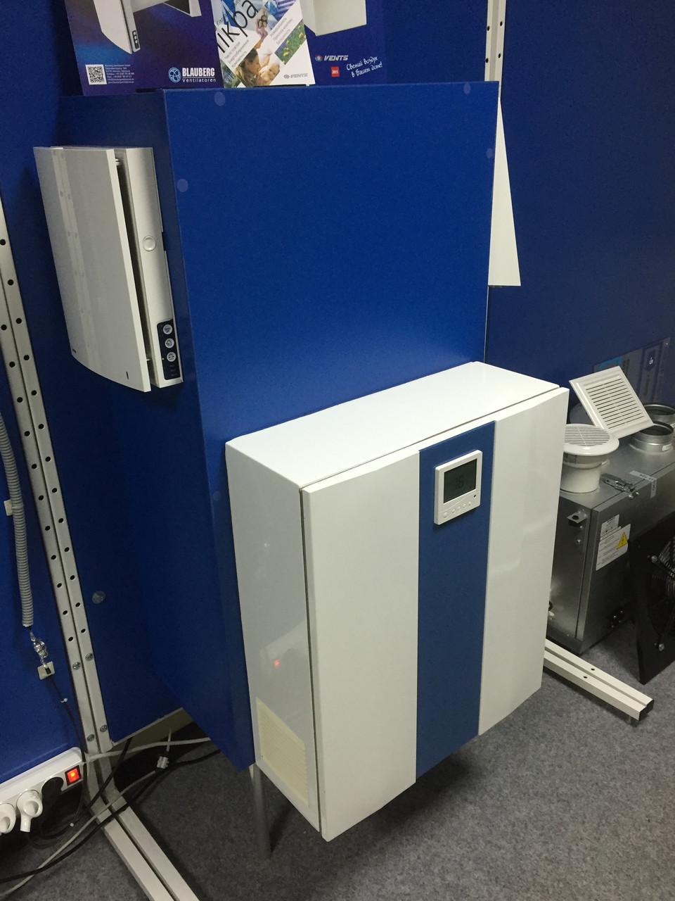 Вентс МИКРА 150 Э. Приточно-вытяжная установка с рекуператором нагревателем