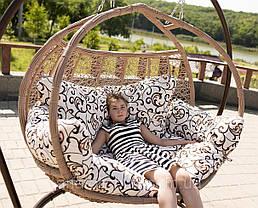 Подвесное кресло  Galant Кофе-Орнамент , фото 3
