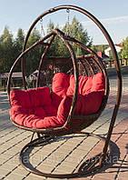 Подвесное кресло Украинские Конструкции Galant Шоколад-Красная (NK-12993145)