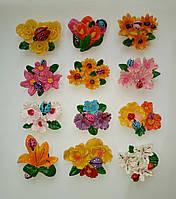Магниты на холодильник цветы 7*5,5