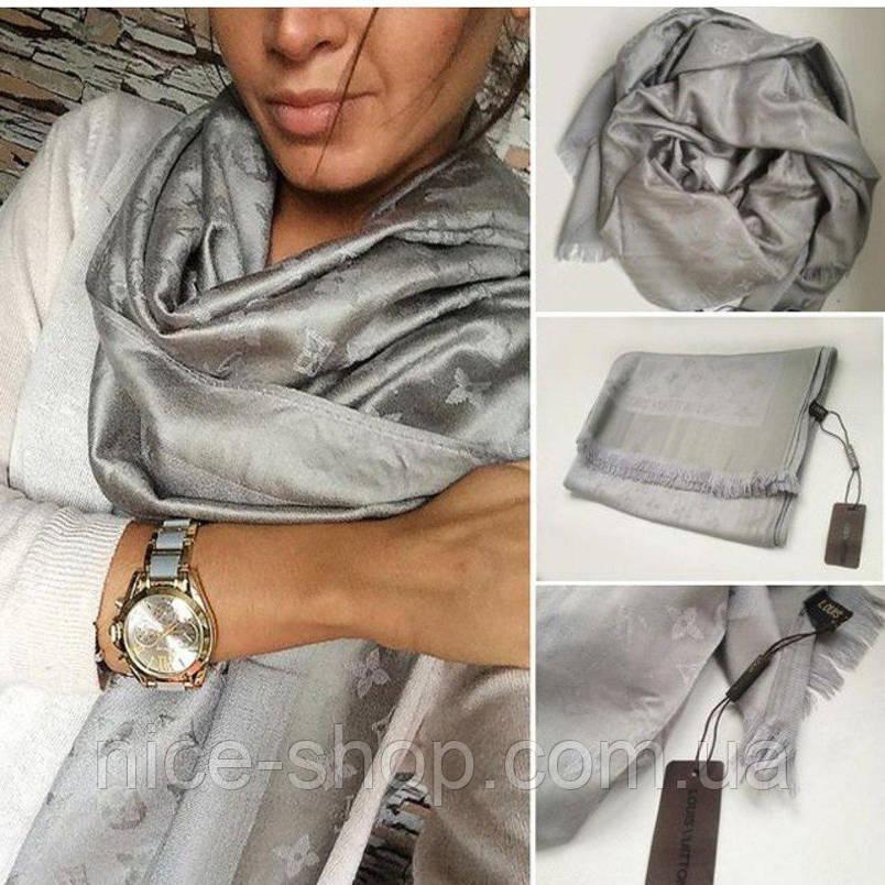Палантин Louis Vuitton сталь, фото 2