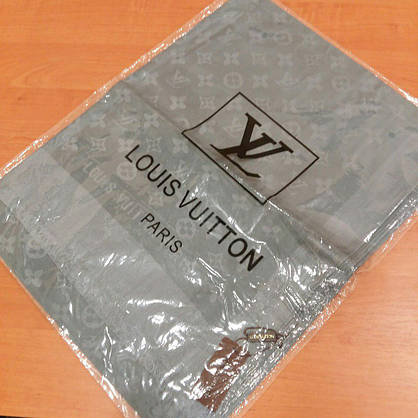 Палантин Louis Vuitton сталь, фото 3