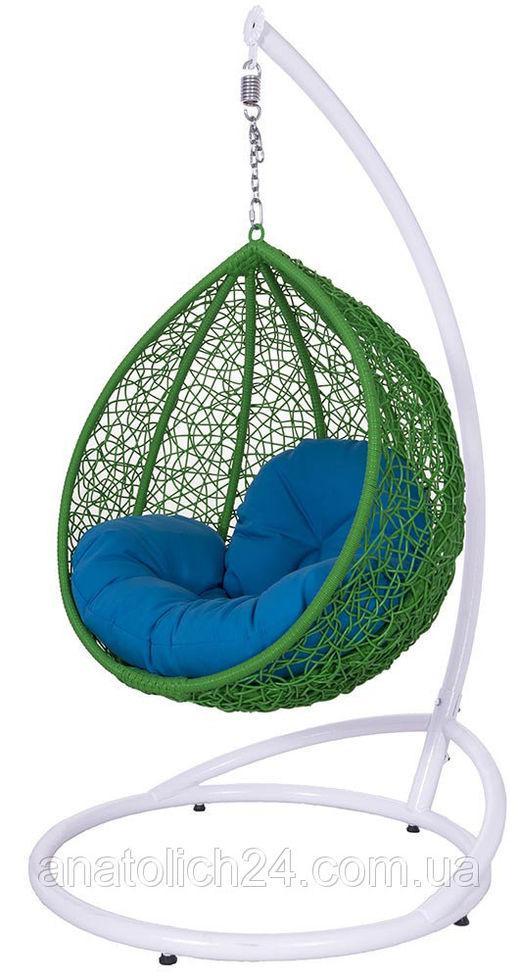 Подвесное кресло  Gardi Kids Зеленая-Голубая
