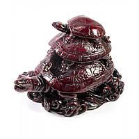 Черепаха тройная каменная крошка коричневая (8х11,5х7 см)