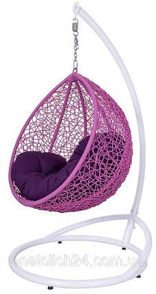 Подвесное кресло  Gardi Kids Розовая-Фиолет , фото 2