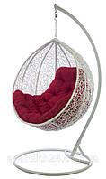 Подвесное кресло Gardi Белый-Красная