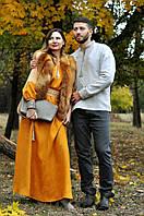 Парные вышиванки: вышиванка мужская и женское вышитое платье