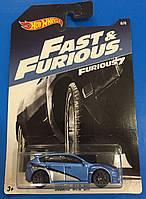 Машинка  Hot Wheels серия Fast And Furious Subaru WRX STI