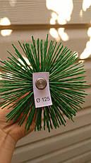 Щетка для чистки дымохода пластик под резьбу 150 мм, фото 3