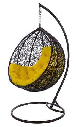 Подвесное кресло Gardi Шоколад-зеленая, фото 2