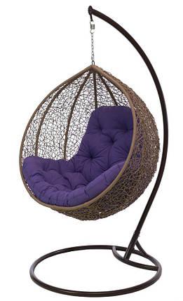 Подвесное кресло Gardi Шоколад-Красная , фото 2