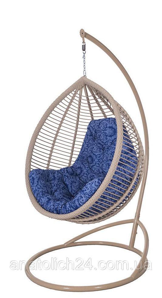 Подвесное кресло Kit Кофе-Иней