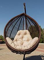 Подвесное кресло Kit Шоколад-Кофейная, фото 2