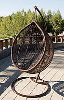 Подвесное кресло Kit Шоколад-Кофейная, фото 3