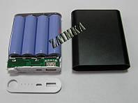 Power Bank корпус с светодиодным индикатором на 4 аккумулятора 18650